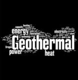 Geothermal tag cloud poster