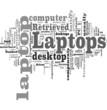 Laptop tag cloud