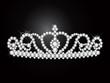 ダイヤモンドのティアラ diamond tiara