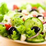 Fototapety Close up of Greek Salad