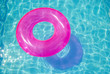 rubber ring in the swimming pool - 16784282