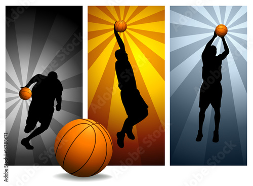 Vector Basketball Players #2