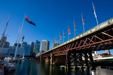 Darling Harbour City Skyline, Sdyney