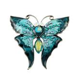 bijou, broche papillon poster
