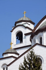 Details of Sveti Sava cathedral in Belgrade