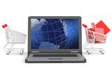 e-commerce concept poster
