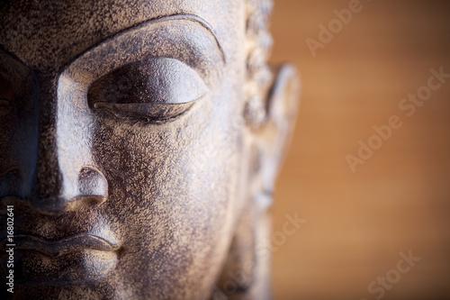 Naklejka Statue de bouddha