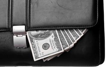 Money in attache