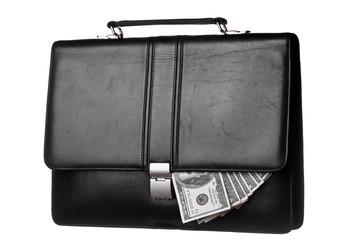 Dollars in case