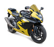 Leinwandbild Motiv yellow sport bike