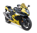 Fototapety yellow sport bike