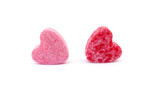 Candies two sweet hearts confectionery poster