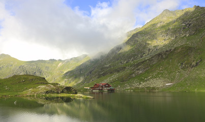 Balea lake,Fagaras Mountains,Romania