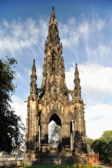 Scott Monument, Edinburgh, Scotland, UK