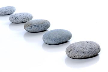 aligned stones