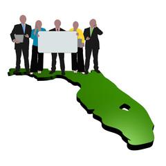 Florida business team
