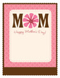8.5x11 Happy Mother's Day Flyer/Poster Template
