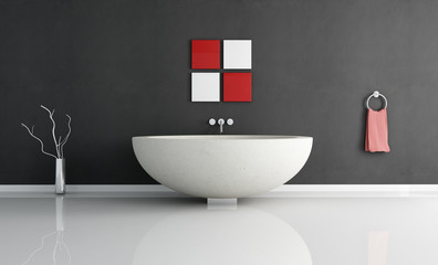 essential contemporary bathroom