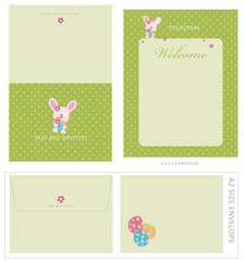 Special Event Templates (invite, envelope, 8.5x5.5 program)