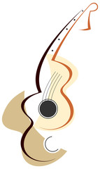 Guitar logotype