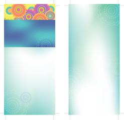 4x9 Rack Card Brochure Template