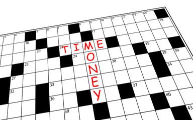 Cruciverba time-money