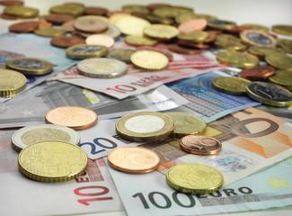 Geld & Münze & Scheine