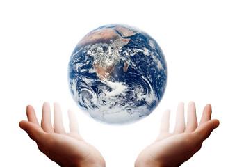 Il mondo in mano.