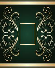 gold ornate card