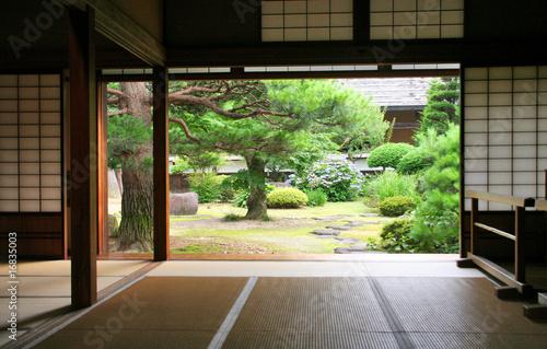 Foto op Plexiglas Japan interieur traditionnel japon