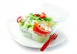 fastfood mal gesund! frischer salat