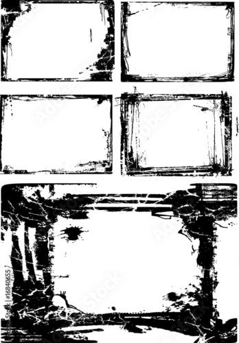 artistic border frame material