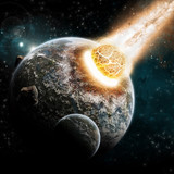 Planet Explosion - Universe Exploration - Earth Apocalypse