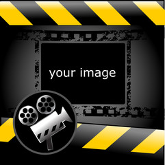 cinema, video wallpaper, clapperboard