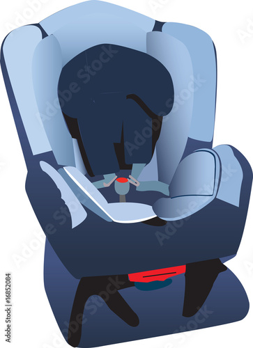 Car seat illustration