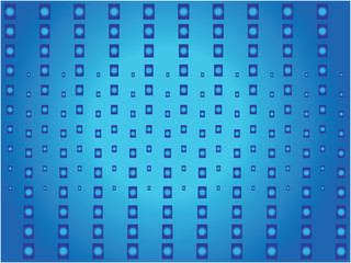 blue light pattern
