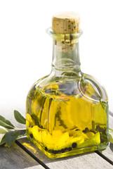 Oil in carafe