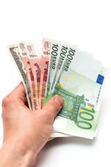 Money in your hand