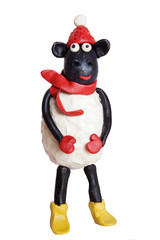 plasticine sheep