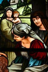 Maria und Marta Bad Kösen Kirchenfenster