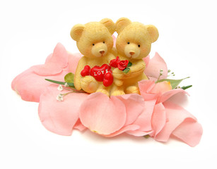 Valentines teddy bears