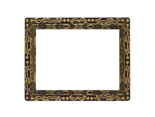 Horizontal empty Frame for portrait or picture