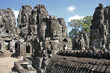 "Site ""BAYON"" aux temples d'Angkor"
