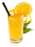 Fototapety Frisch gepresster Orangensaft