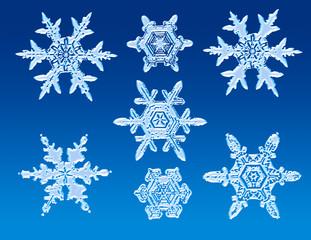 Schneeflocken_natur2_Płatki śniegu