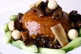 china delicious food-- sea slug fried rice poster