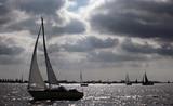 Sailing Sunset poster