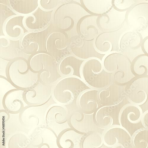 Srebrny beżowy błyszczący spirale tekstury, wzór; ilustracji wektorowych
