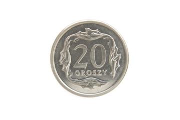 dwadzieścia groszy polskich