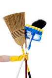 Housework - Broom, mop, duster poster